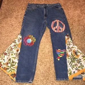 "Levi ""hippy"" jeans"